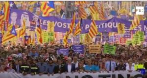 Demo Bardelona 26.8.2017 gegen Terror und Polizeistaat
