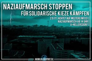 02.09.2017: Naziaufmarsch in Hellersdorf stoppen!