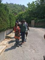 An der Grenze zwischen Italien und frankreich_Herrous Spaziergänge