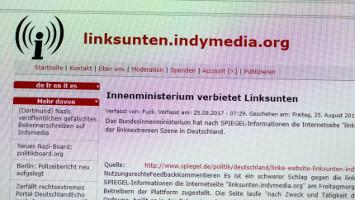 indymedia kündigt eigenes verbot an am 25.8.2017