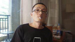 Lu Yuyu kurz vor seiner Festnahme 2016