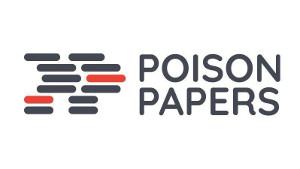 Das Logo der Poison Papers Kampagne seit Juli 2017