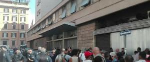 Räumung Besetzung Rom - nurz nach 2 Räumungen in Bologna, August 2017