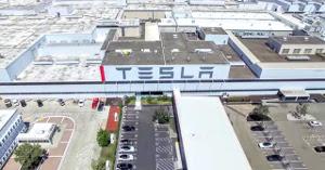 Tesla Werk in Fremont Kalifornien