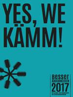 Yes we kämm! Kampagne der ver.di-Jugend BESSER ABSCHNEIDEN für höhere Ausbildungsvergütungen im Friseurhandwerk