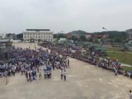 6. September 2017 - 6.000 streiken in koreanischer Textilfabrik im Norden Vietnams