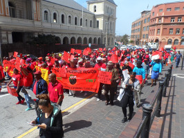 COSATU Demo Port Eilzabeth 27.9.2017