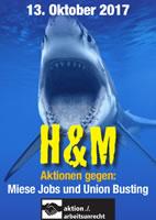 Schwarzer Freitag am 13. Oktober 2017: H&M-Horror