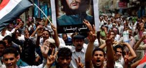 August 2017: Massendemonstration in Aden: Gegen Krieg und Kapitalismus im Jemen