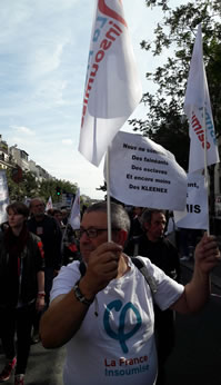 Protesttag am Samstag (23. September 17) in Paris, Foto: Bernard Schmid