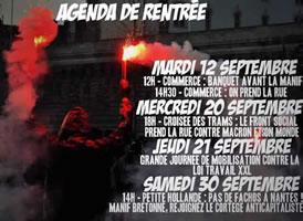 """Frankreich: Mobilisierunge gegen die Arbeitsrechts-""""Reform"""" unter Emmanuel Macron im September 2017"""