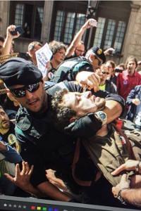 So sieht im September 2017 die Guardia Civil aus