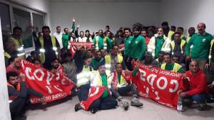 Die Mailänder SDA Belegschaft hat den Streik bei der italienischen Post begonnen - jetzt, am 25.9.2017 in 5 Städten