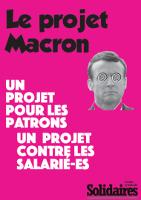 Plakat von Solidaires gegen Loi travail 2 von Macron