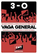 Basisgewerkschaften rufen zum Generalstreik in Katalonien am 3.10.2017, Studierendenverband ebenfalls