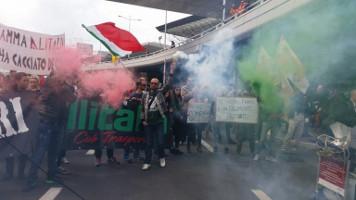 Alitalia-Streik hier Mailand am 2.10.17