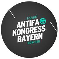 Antifa Kongress Bayern vom 3. bis zum 5. November  2017