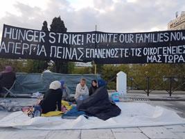 Herbst 2017 in Griechenland: Flüchtlingsproteste auf Lesbos wachsen trotz Repression erneut an – jetzt auch Hungerstreik in Athen