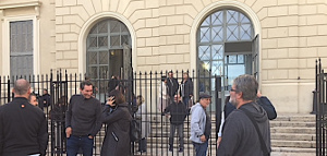 Gerichtsverhandlung gegen STC in Ajaccio am 25.10.17