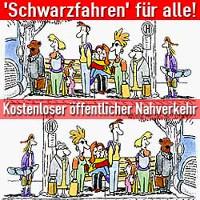 Schwarzfahr-Kampahgne Plakat 2017