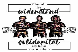 Bündnis »Widerstand Mai 31 - Solidarität ist kein Verbrechen«