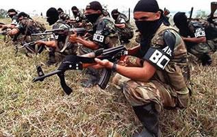 frei agierende militaristische Gruppierungen in Kolumbien