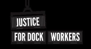 Logo der Dockworkers Justice