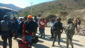 Polizei zieht wieder ab, Täter wieder frei: Bergarbeitermorde Mexiko am 18.11.2017
