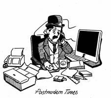 postmodern times. Grafik der FAU Mannheim