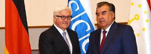 Tadschikische Diktatoren und Freunde