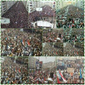 Die größte Demo der jemenitischen Geschichte 7.7.2017 in Aden für Unabhängigkeit