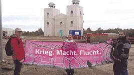 Keine Kriegsübungen in Schnöggerburg und anderswo!