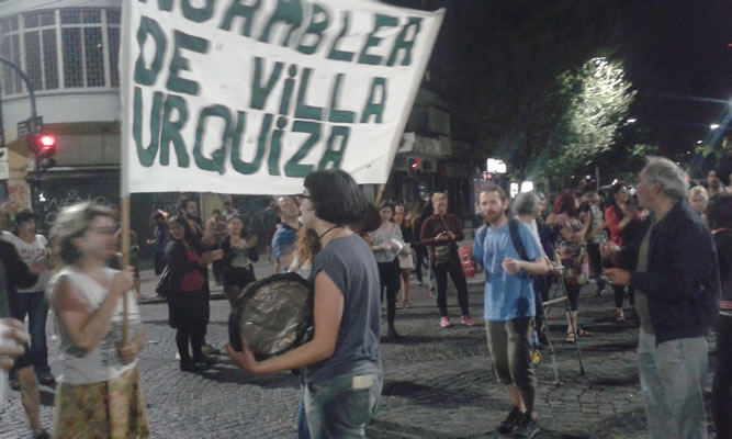 Demonstration am 19. Dezember in Buenos Aires, Foto von Alix Arnold