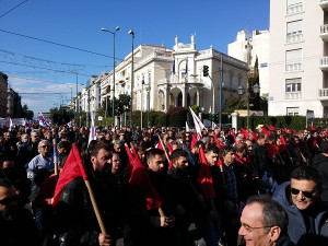 Generalstreikdemo Athen 14.12.2017 - PAME