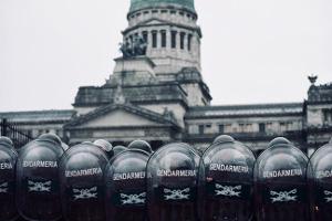 Der Dialog der argentinischen Regierung mit den Rentnern am 14.12.2017
