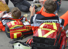 Demonstrationssanitäter