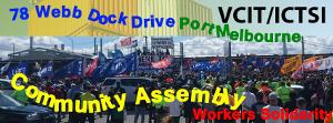 Solidaritätsaufruf mit den asutralischen Dockern im Dezember 2017