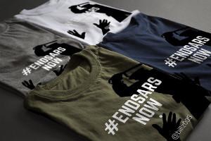 Kampagne gegen Polizei Sondereinheit SARS in Nigeria Dezember 2017