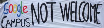 """Geplanter """"Google Startup Campus"""": Stören – Besetzen – Blockieren – Sabotieren – Verhindern!"""