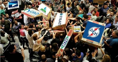 Griechenland: Proteste gegen Zwangsversteigerungen – Streiks gegen Ausverkauf