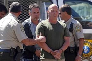 Festnahme von Tom Harding im September 2014
