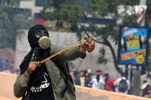 Demonstration gegen Wahlbetrug in Tegucigalpa am 2.12.2017