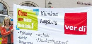 Preisträger Gold Deutscher Personalräte-Preis 2017: Personalrat Klinikum Augsburg für Engagement gegen Altersarmut durch Verhinderung von Outsourcing