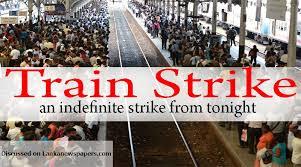 Streikplakat Sri Lanka Eisenbahn Dezember 2017
