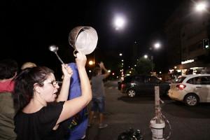 Kochtopfproteste in Buenos Aires die ganze Nacht vom 18.12.2017