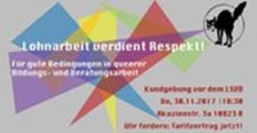 """""""Untragbare Arbeitsverhältnisse"""": die Gewerkschaft FAU Berlin erhebt Vorwürfe gegen LSVD"""