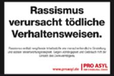 PRO ASYL: Rassismus verursacht tödliche Verhaltensweisen