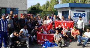 Soligruppe mit italienischem Logistikstreik September 2017