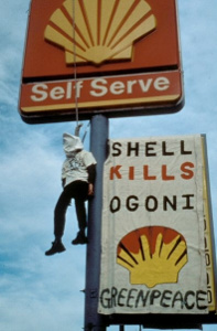 Ogoni Kampagne gegen Shell in Nigeria