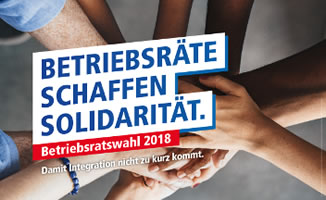 Betriebsratswahl 2018 (DGB-Werbung)